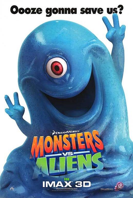 Monsters vs. Aliens Poster #2