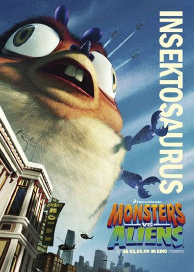 Monsters vs. Aliens Poster #21