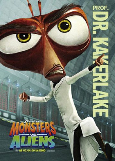 Monsters vs. Aliens Poster #23