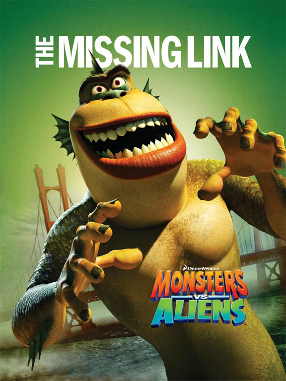 Monsters vs. Aliens Poster #4