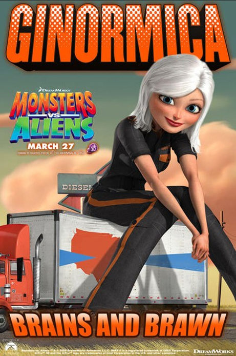 Monsters vs. Aliens Poster #7