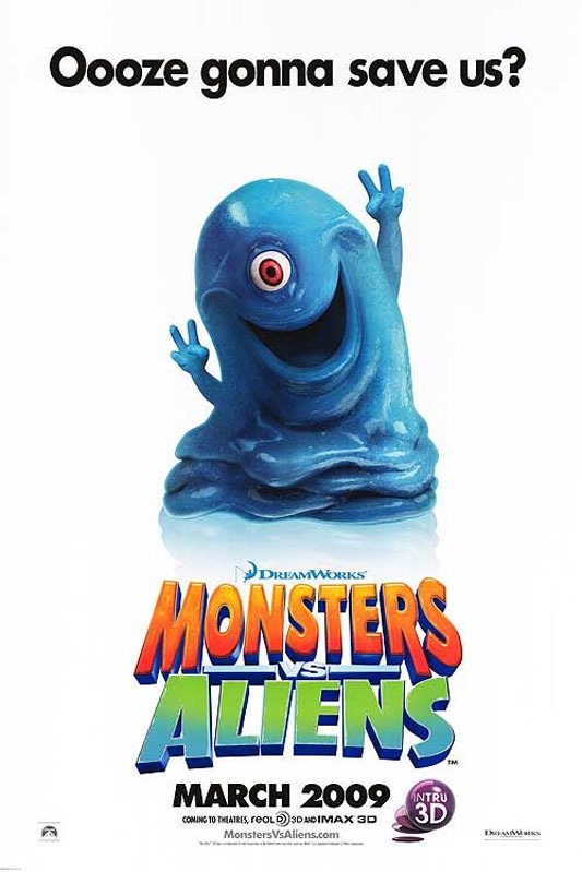 Monsters vs. Aliens Poster #1