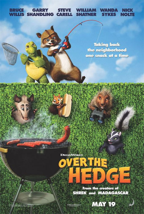 Over the Hedge Poster #1