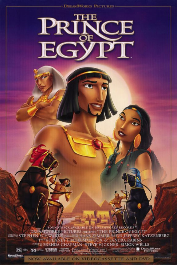 The Prince of Egypt Poster #3