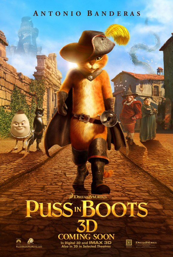 Puss in Boots Poster #3