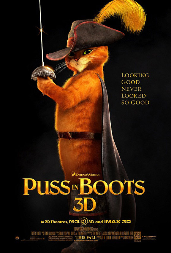 Puss in Boots Poster #4