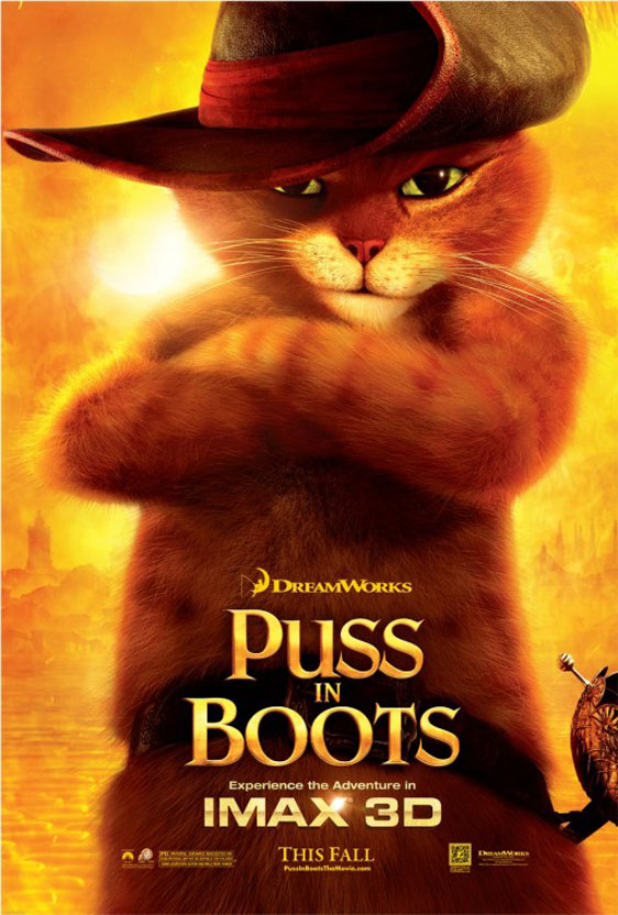 Puss in Boots Poster #7