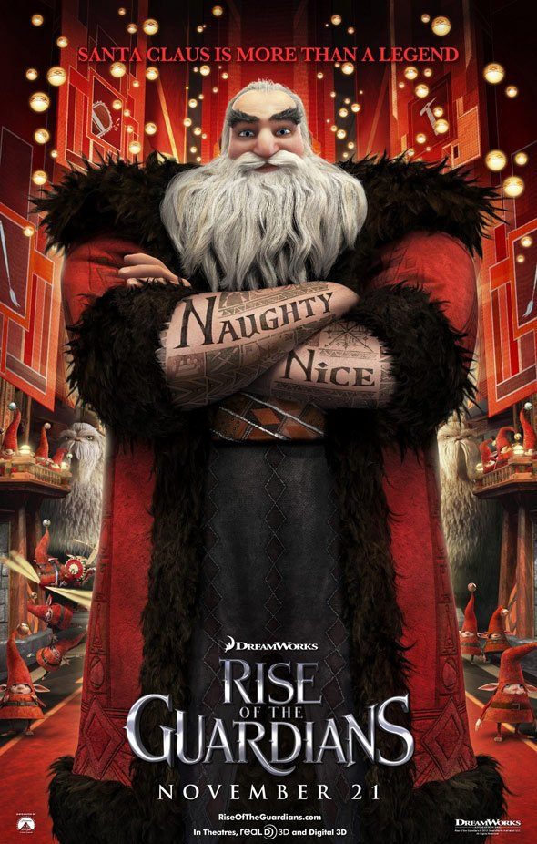 Rise of the Guardians Poster #7