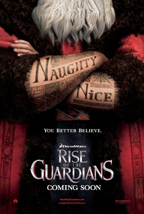 Rise of the Guardians Poster #1