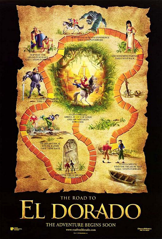The Road to El Dorado Poster #2