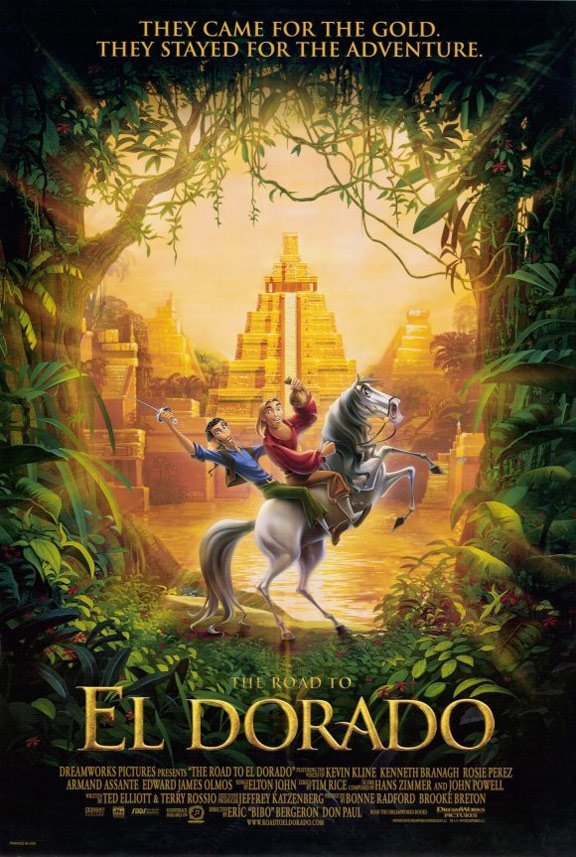 The Road to El Dorado Poster #1