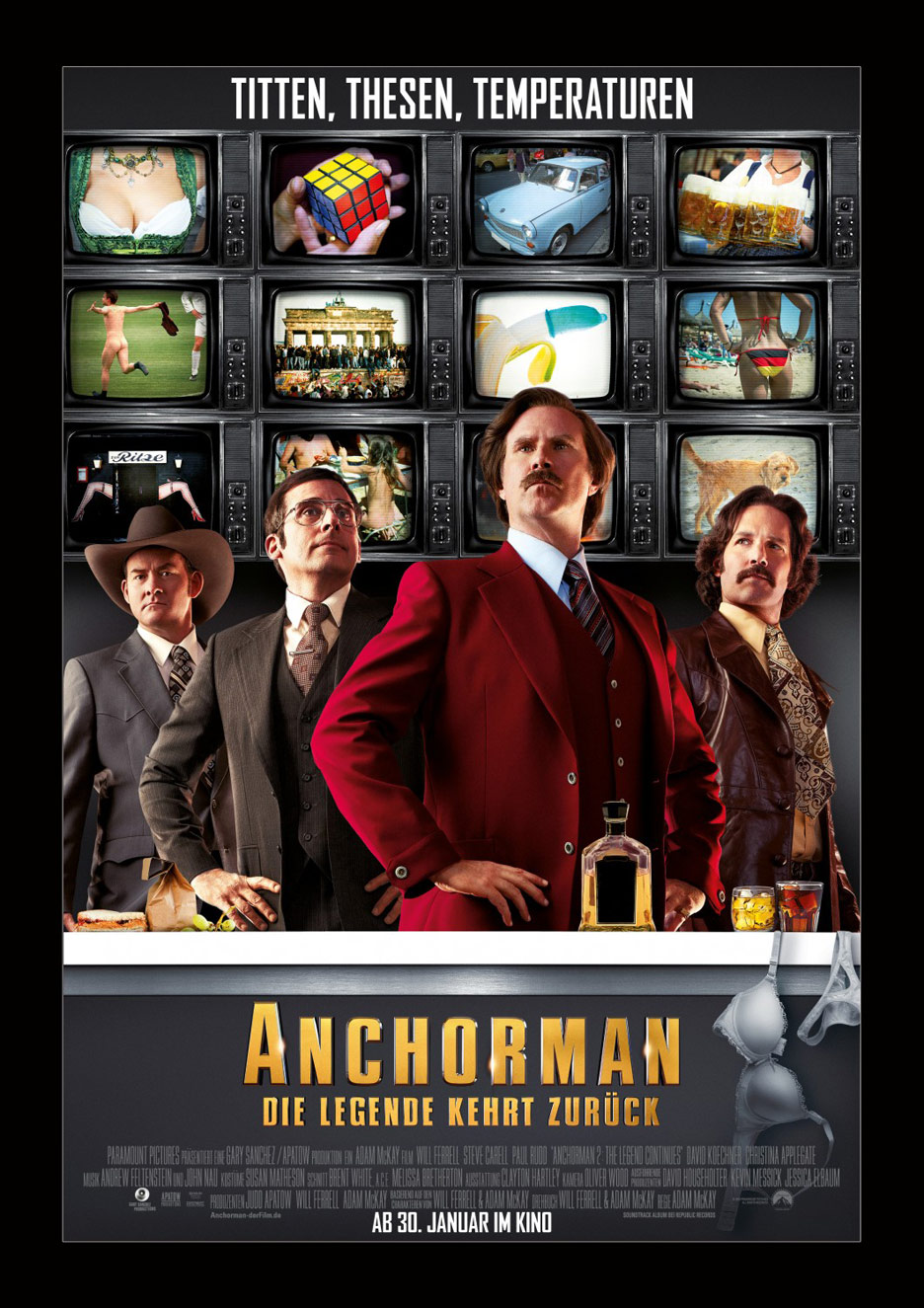 Anchorman 2 The Legend Continues 2013 Poster 14 Trailer Addict