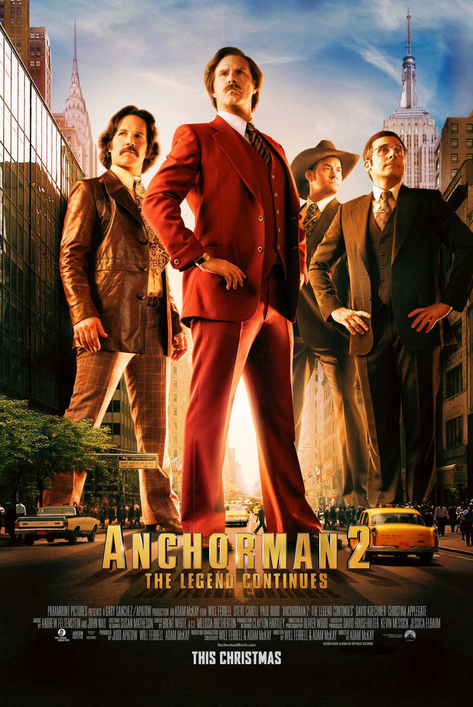 Anchorman 2: The Legend Continues Poster #3