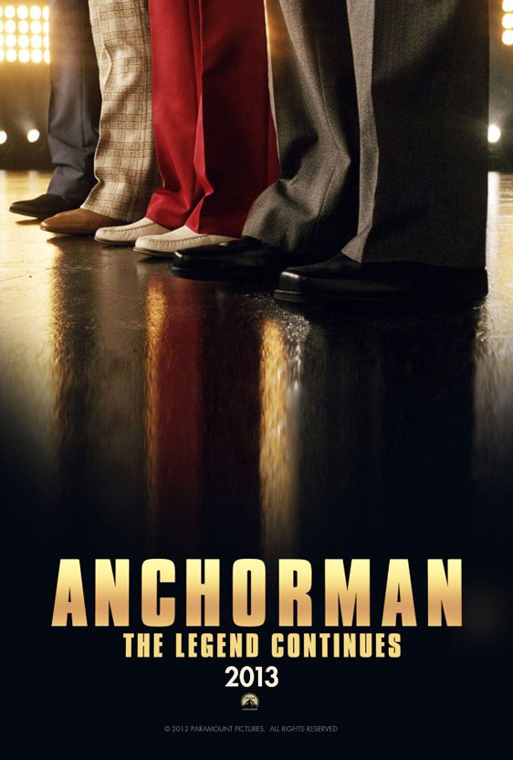 Anchorman 2: The Legend Continues Poster #1