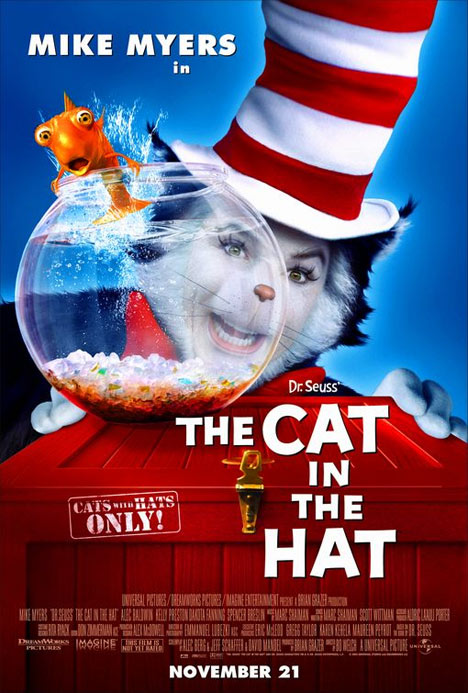 The Cat in the Hat Poster #1