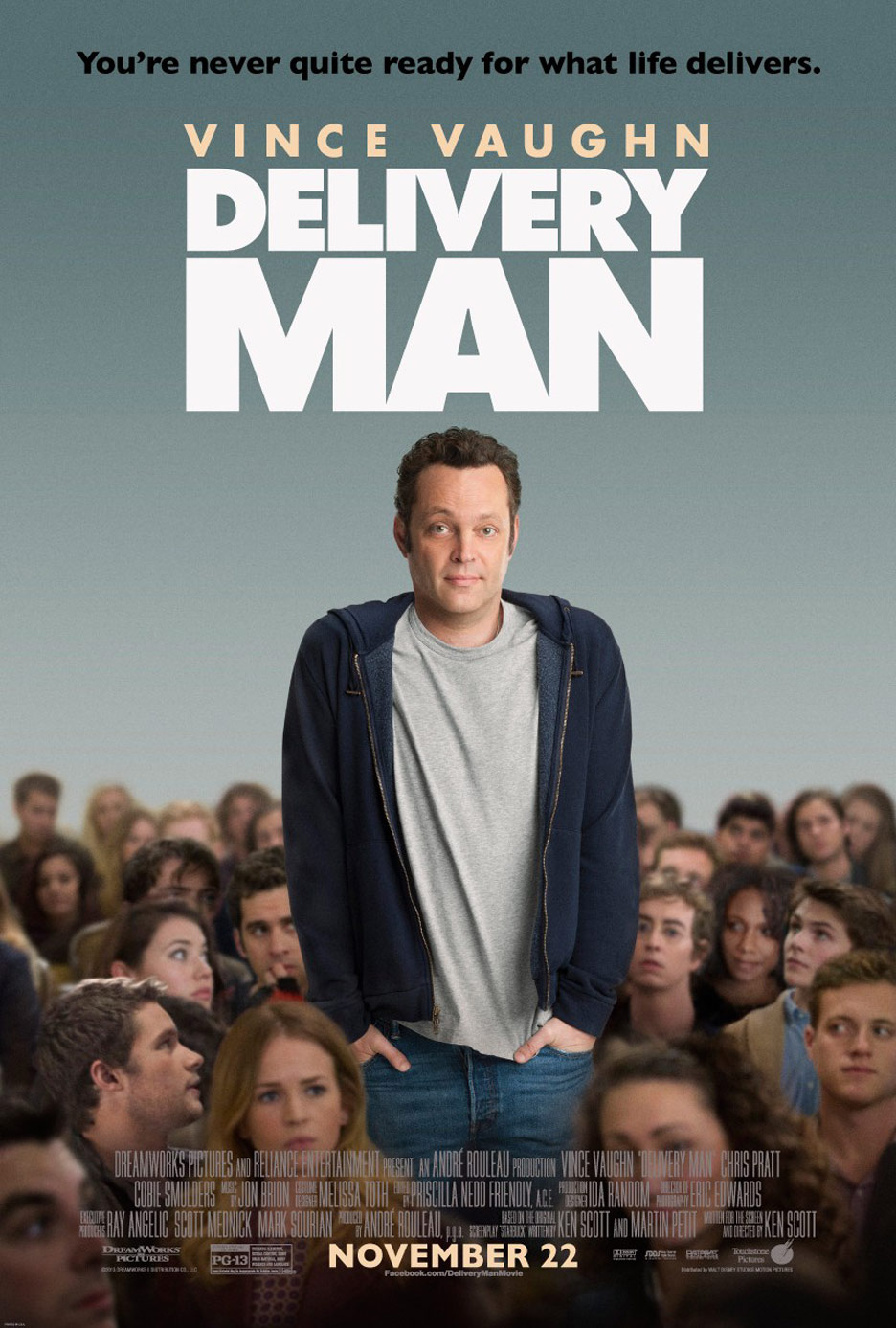Delivery Man Poster #2