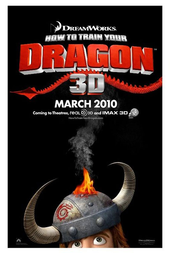 Hotel Transylvania 3 Summer Vacation >> How to Train Your Dragon (2010) Poster #3 - Trailer Addict
