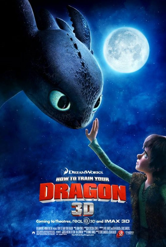 How to Train Your Dragon Poster #6