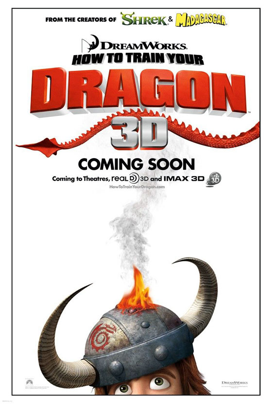 How to Train Your Dragon Poster #1