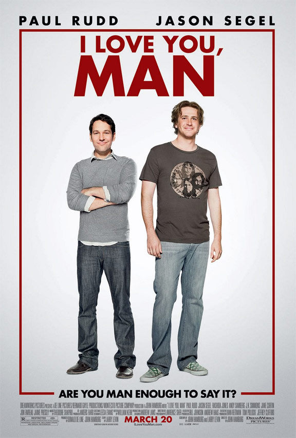 I Love You, Man Poster #2