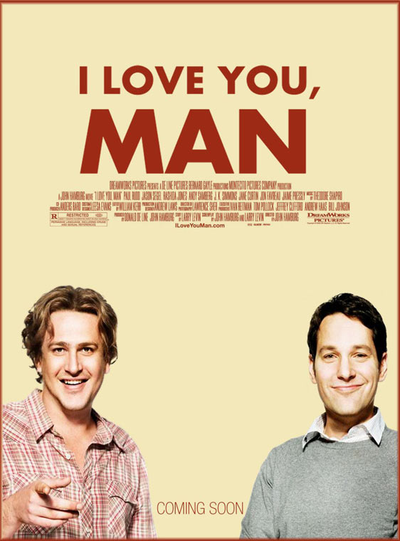 I Love You, Man Poster #1