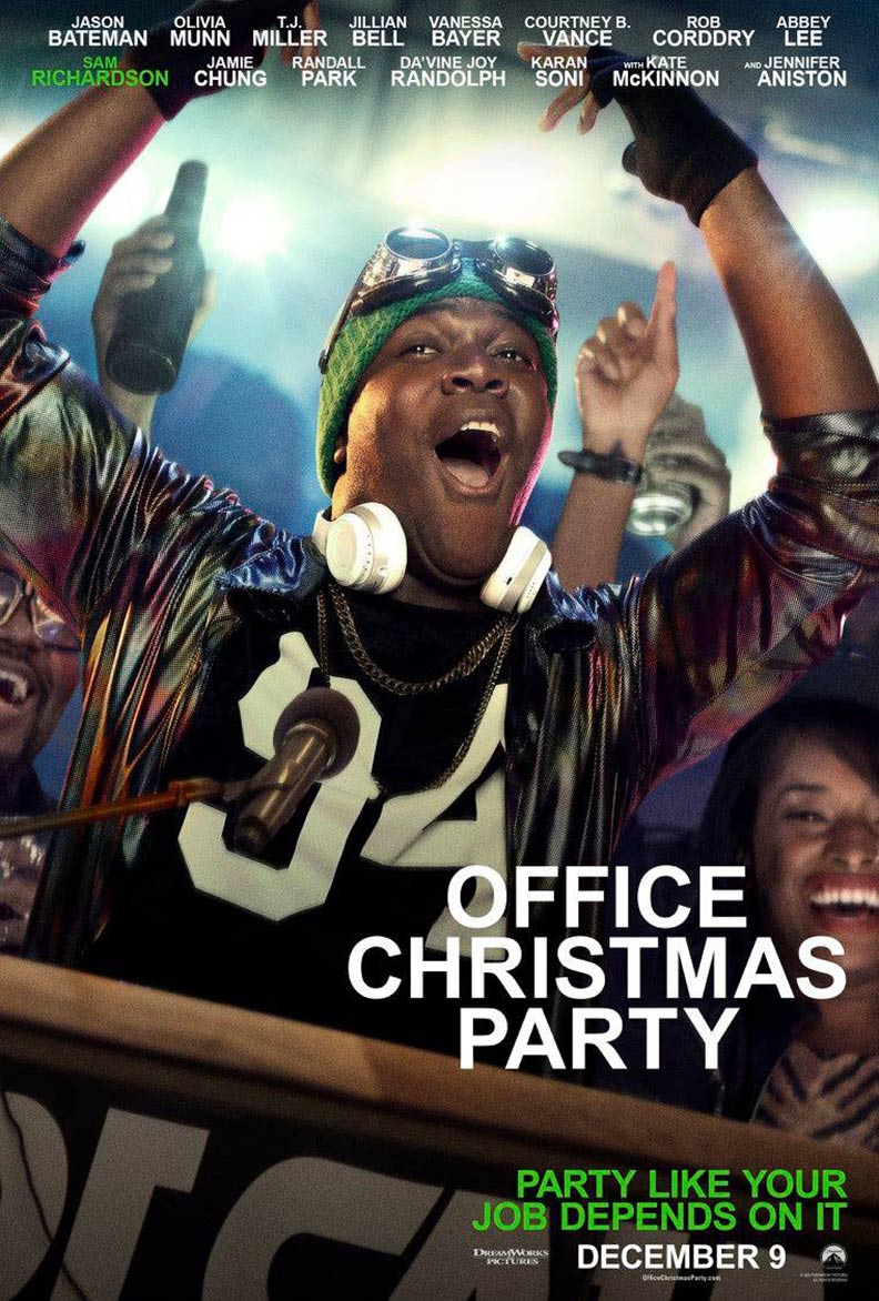 Office Christmas Party (2016) Poster #9 - Trailer Addict