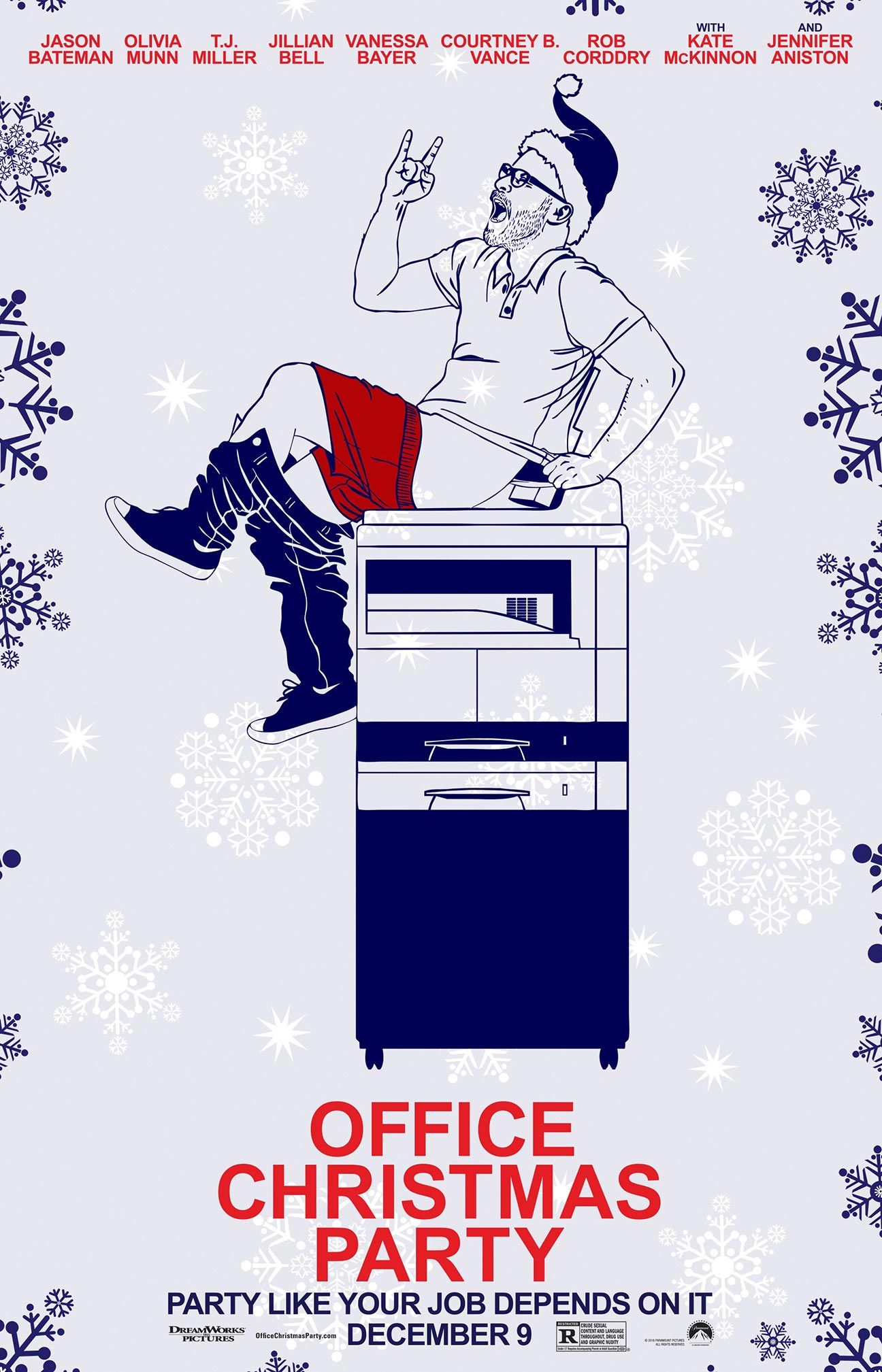 Office Christmas Party Poster #13