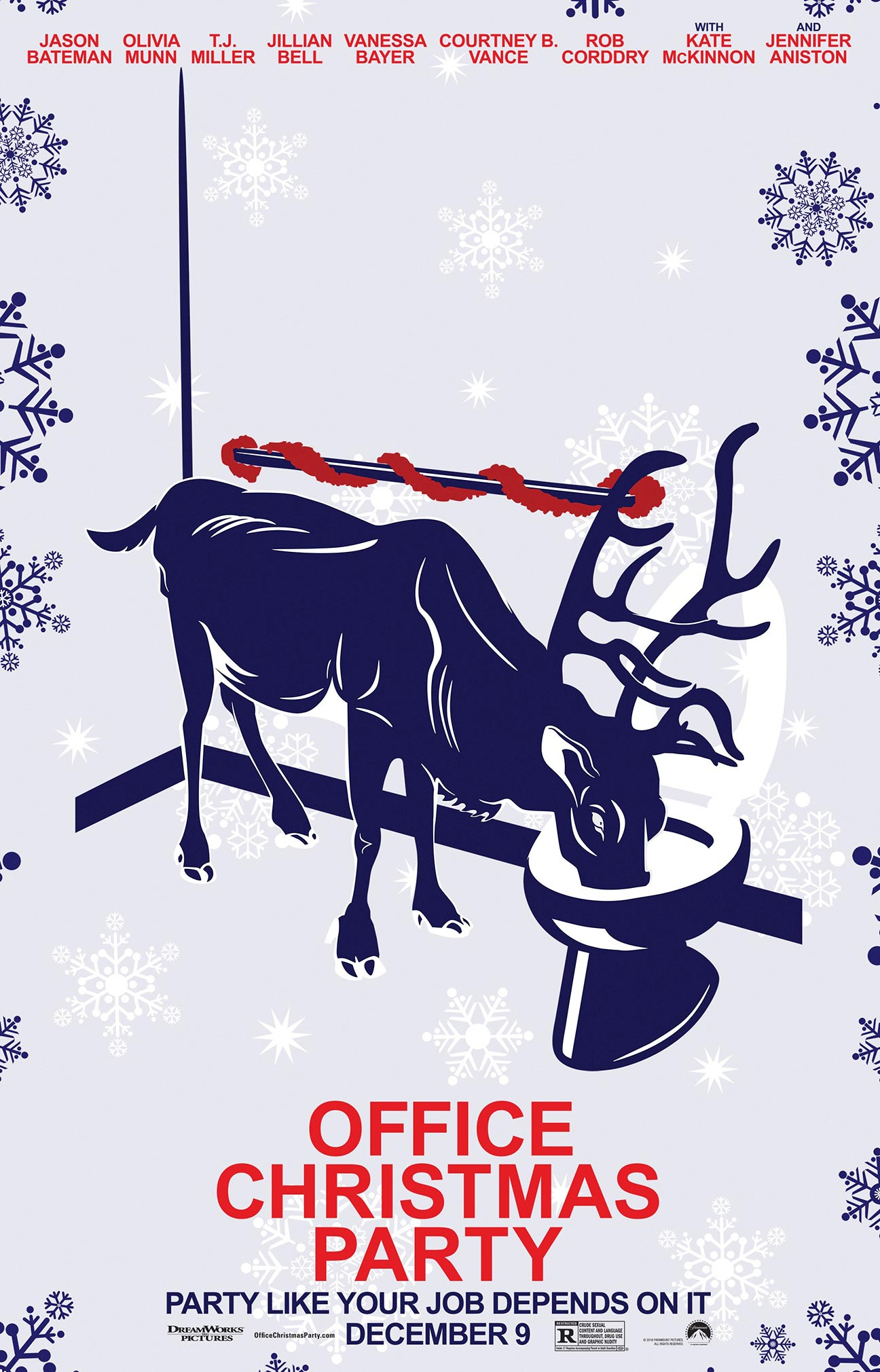Office Christmas Party Poster #15