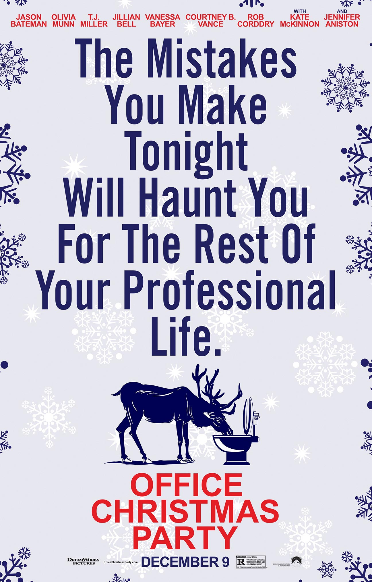 Office Christmas Party Poster #16