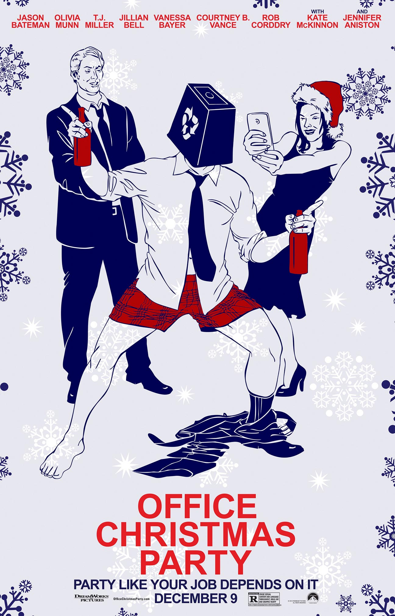 Office Christmas Party (2016) Poster #18 - Trailer Addict