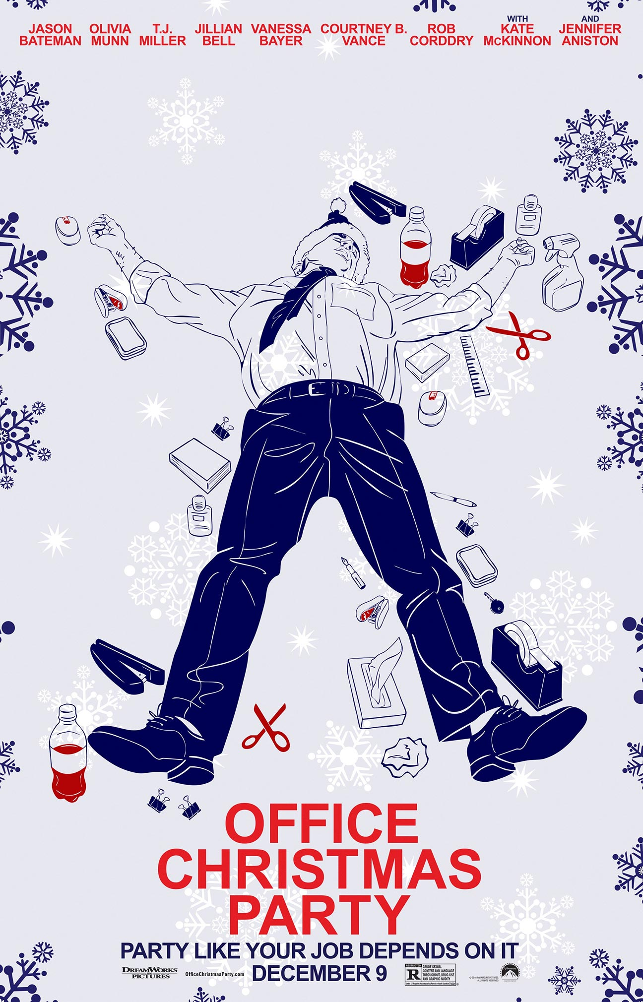 Office Christmas Party Poster #19
