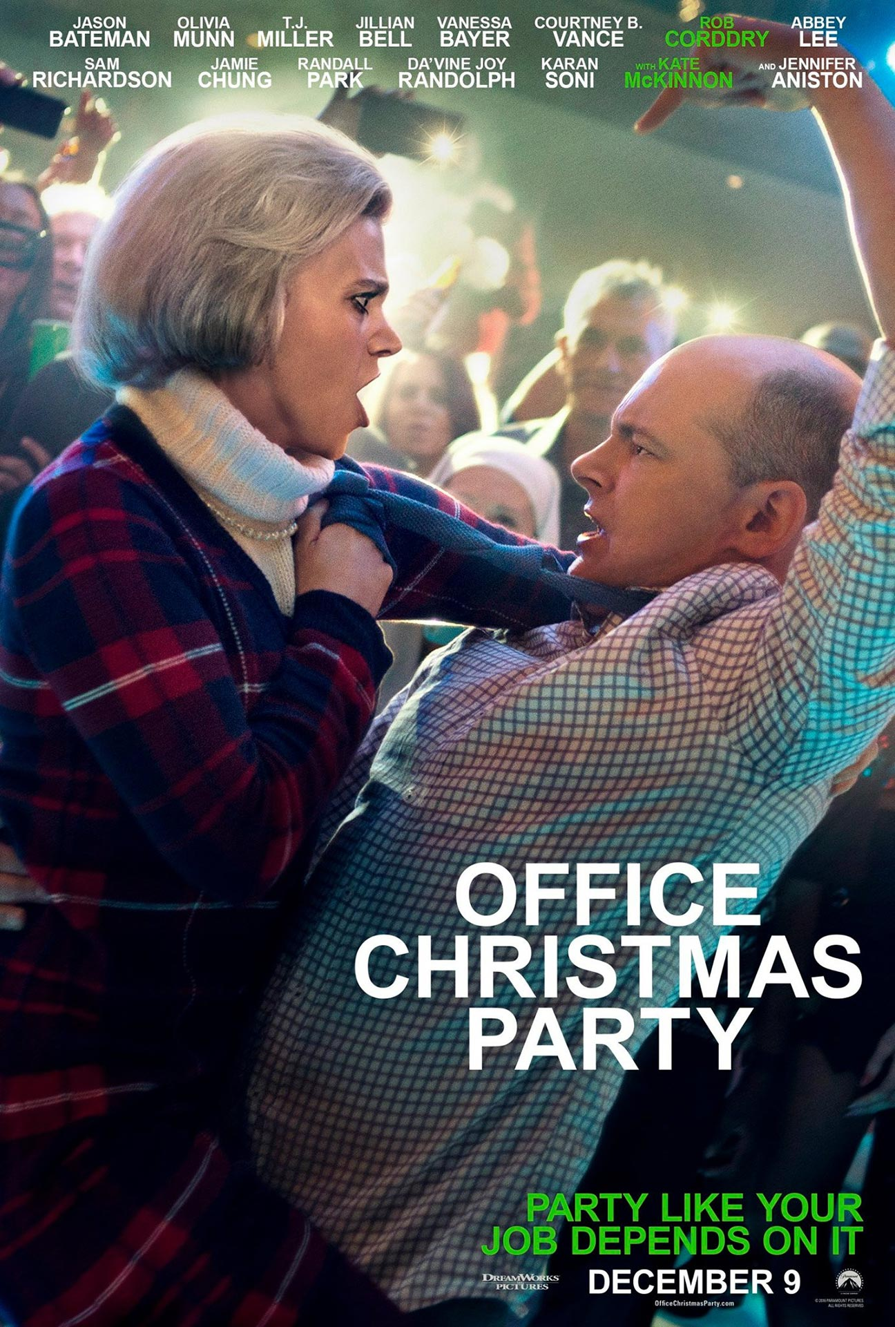 Office Christmas Party (2016) Poster #5 - Trailer Addict