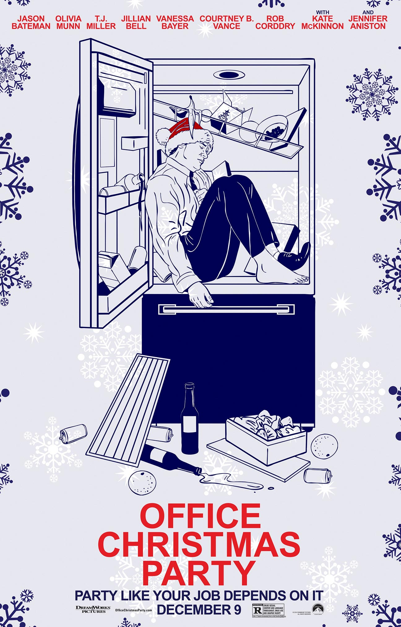 Office Christmas Party Poster #20