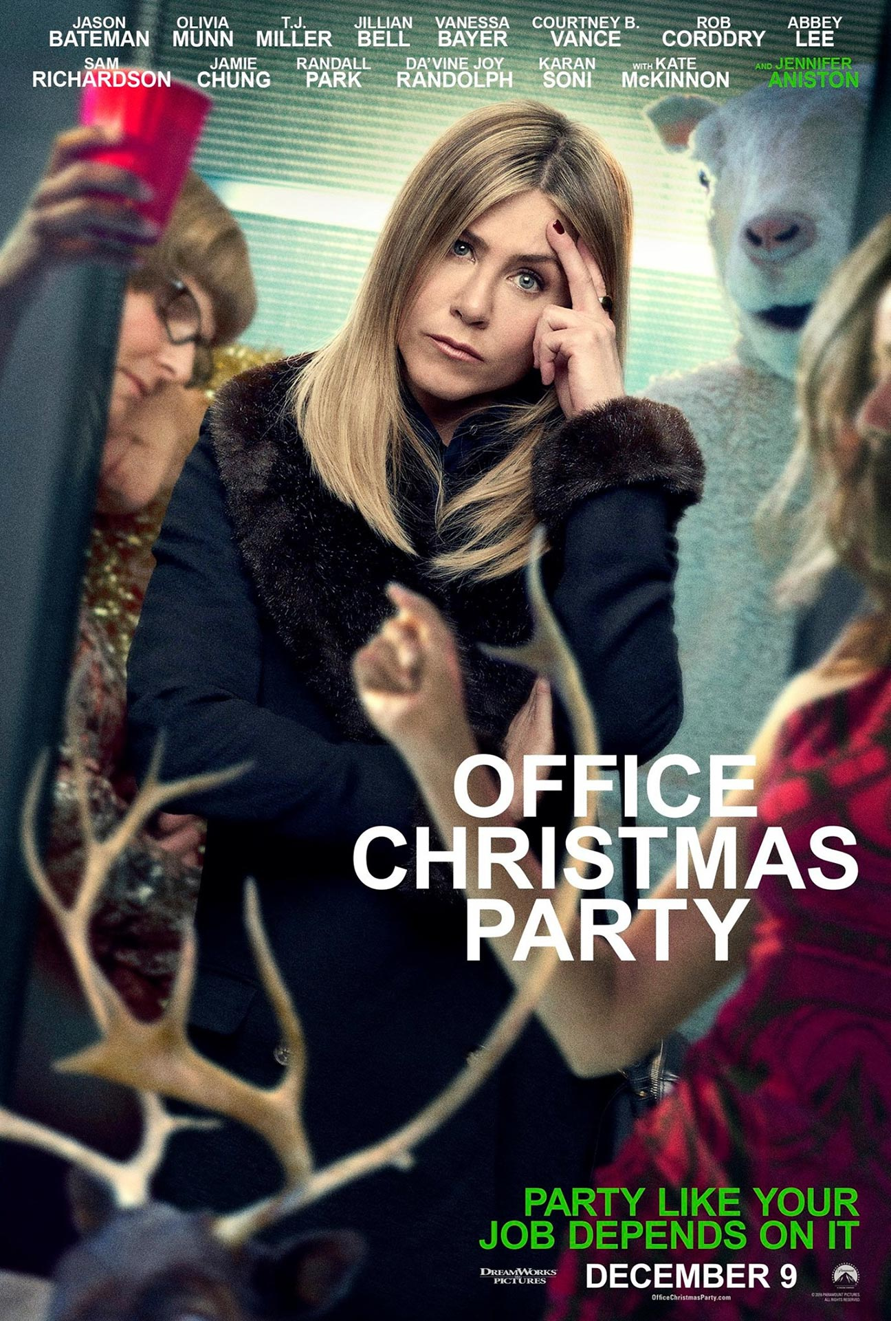 Office Christmas Party Poster #3