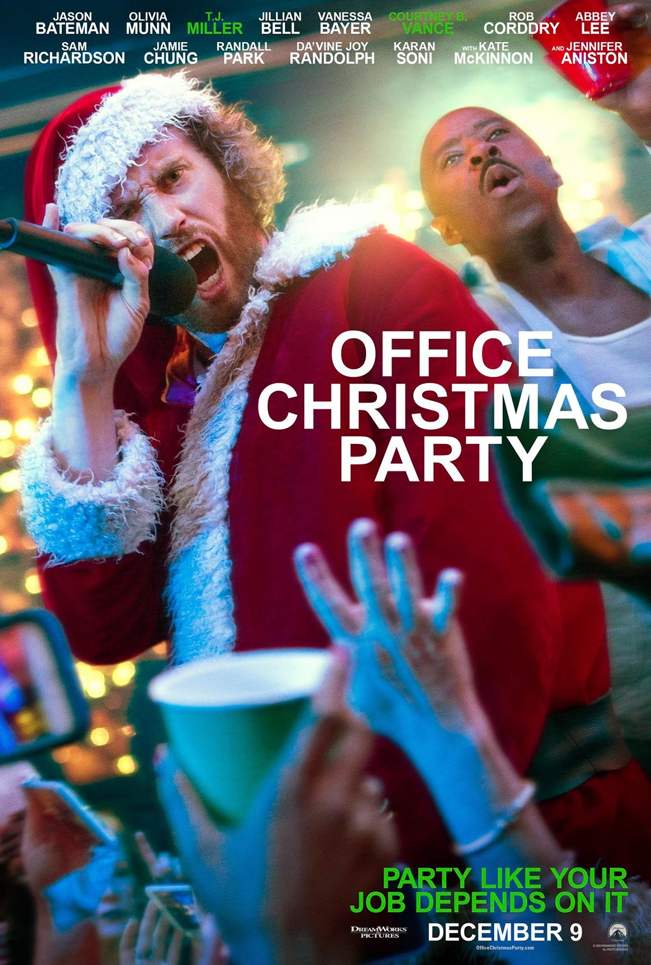 Office Christmas Party Poster #4