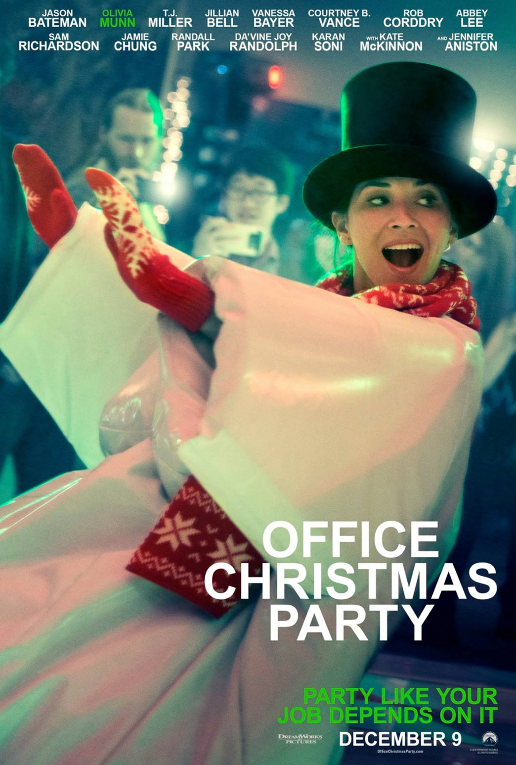 Office Christmas Party Poster #5
