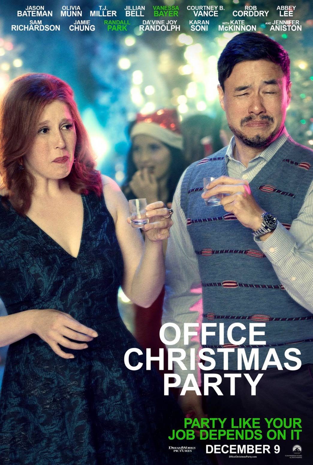 Office Christmas Party Poster #6