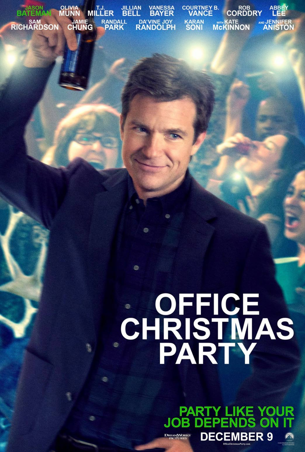 Office Christmas Party Poster #7