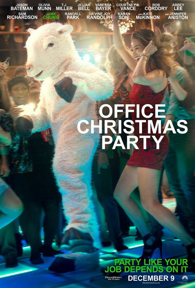 Office Christmas Party Poster #8