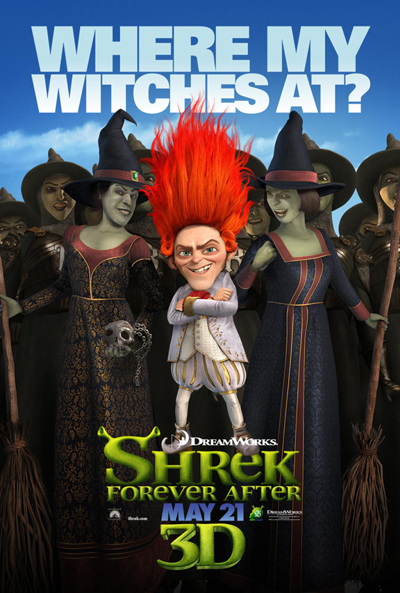 Shrek Forever After Poster #2