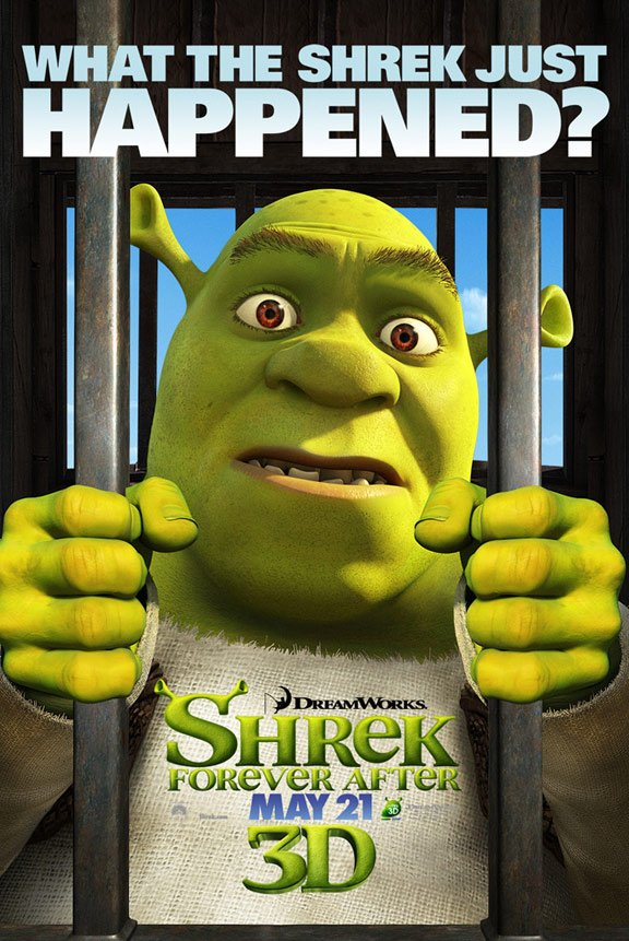 Shrek Forever After Poster #3