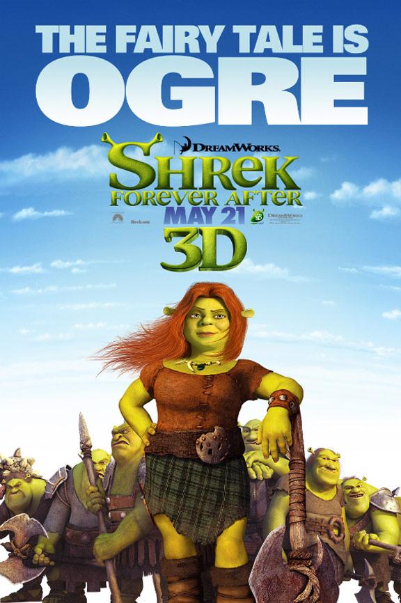 Shrek Forever After Poster #5