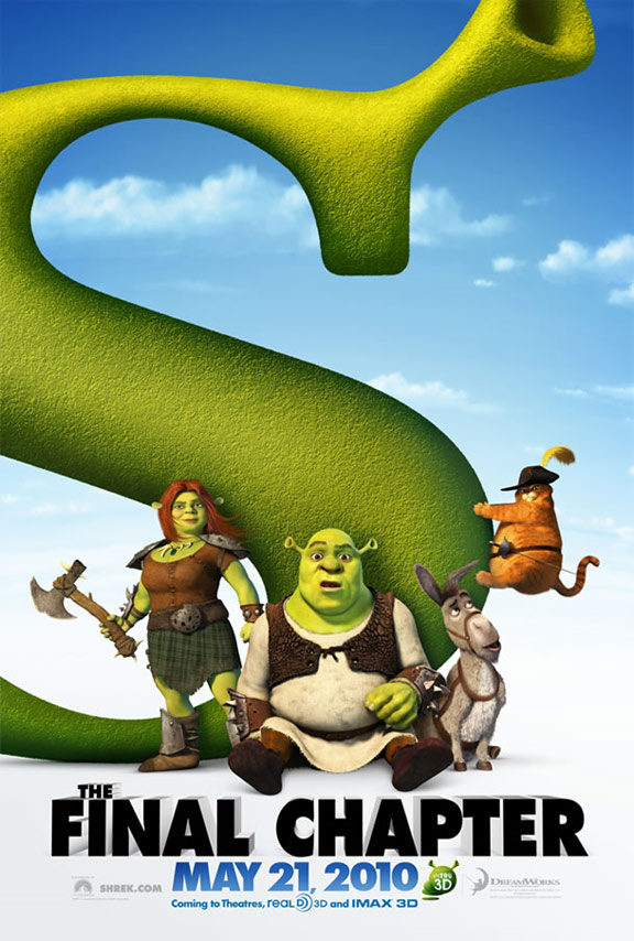 Shrek Forever After Poster #1