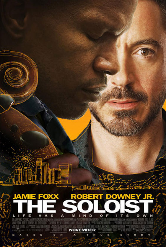 The Soloist Poster #1