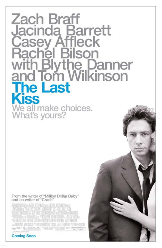 The Last Kiss Poster #1