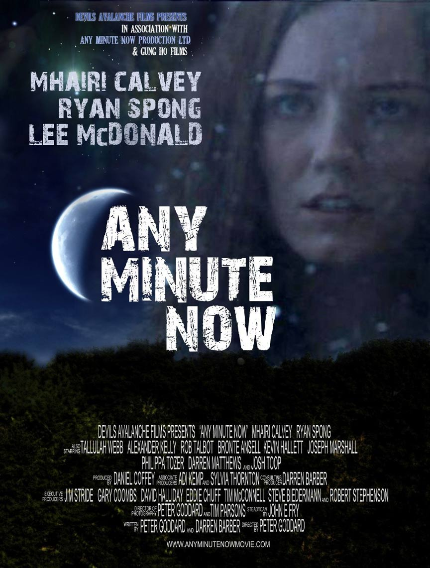 Any Minute Now Poster #1