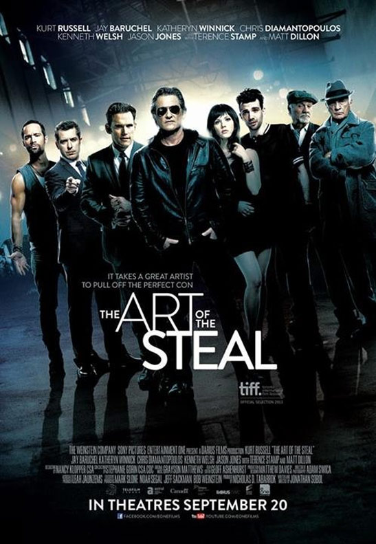 The Art of the Steal Poster #1