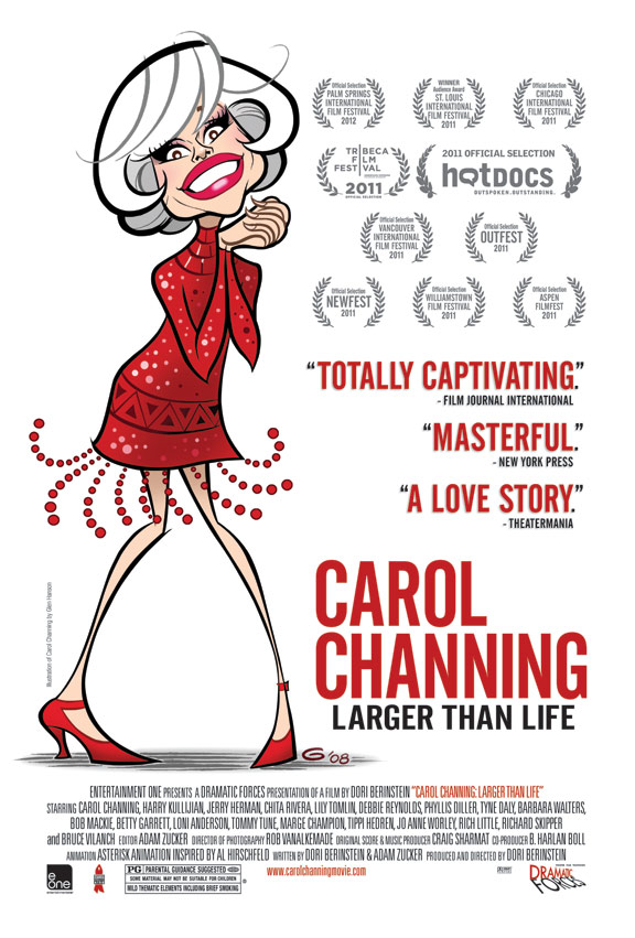 Carol Channing: Larger Than Life Poster #1