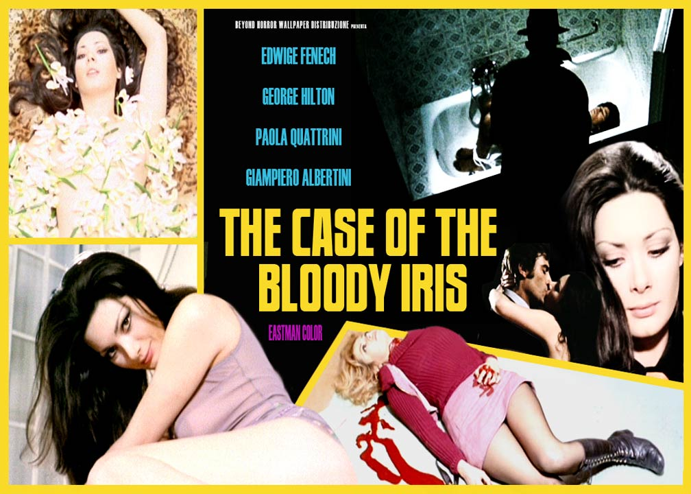The Case of the Bloody Iris Poster #1