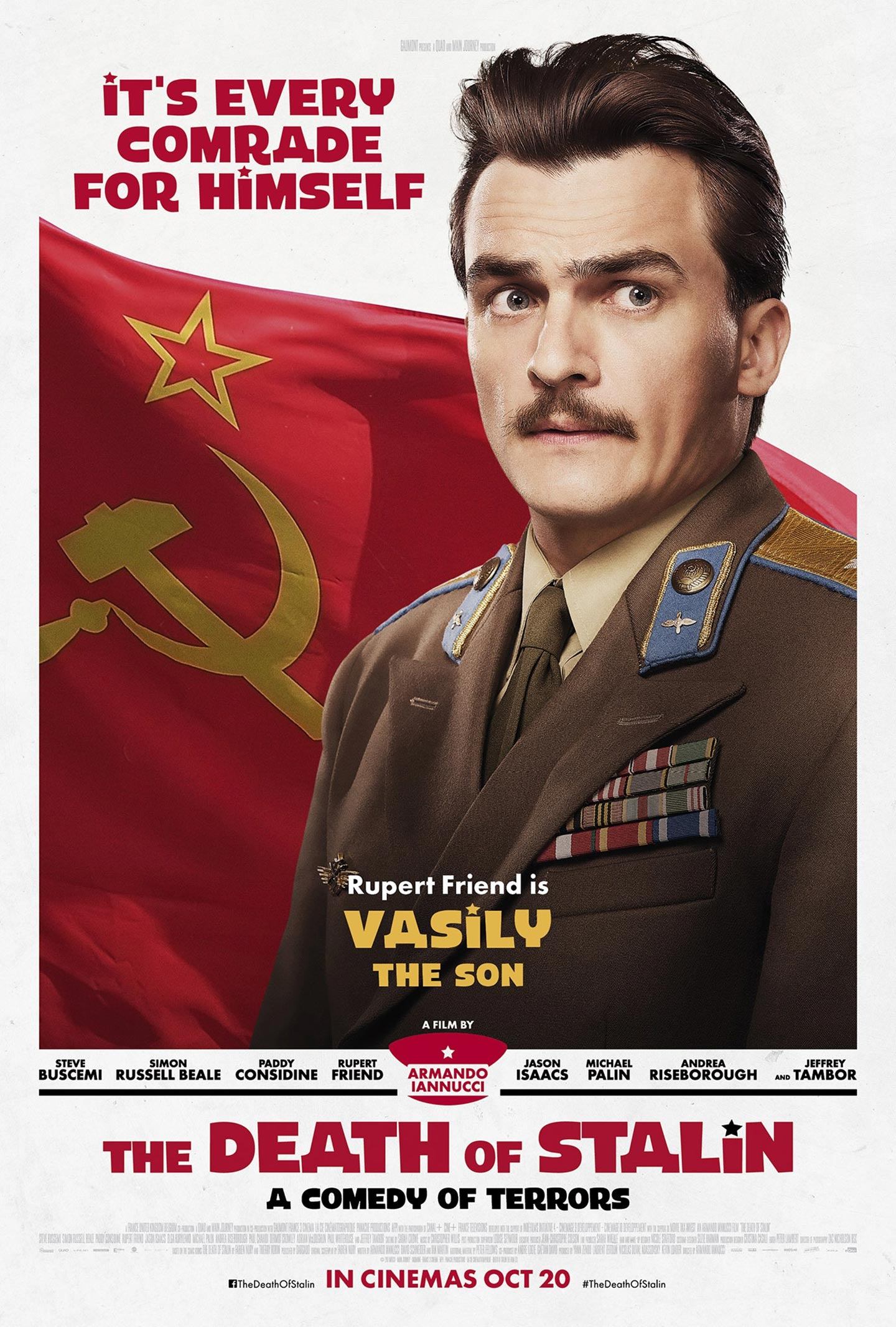 The Death of Stalin Poster #3